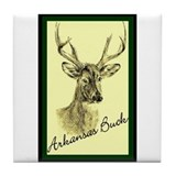 Arkansas deer hunting Drink Coasters