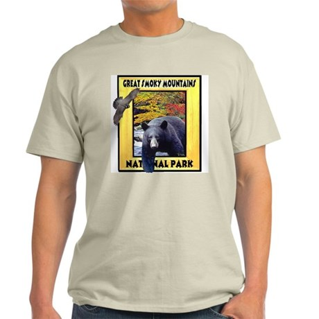 Great Smoky Mountains Nationa Light T-Shirt