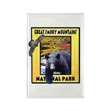 Great Smoky Mountains Nationa Rectangle Magnet