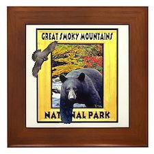 Great Smoky Mountains Nationa Framed Tile