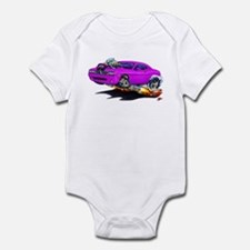 Challenger Purple Car Infant Bodysuit