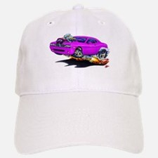 Challenger Purple Car Baseball Baseball Cap
