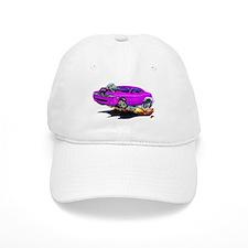Challenger Purple Car Baseball Cap
