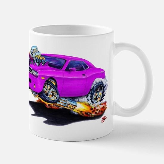 Challenger Purple Car Mug
