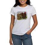Cochins Golden Laced Women's T-Shirt