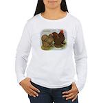 Cochins Golden Laced Women's Long Sleeve T-Shirt