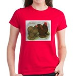 Cochins Golden Laced Women's Dark T-Shirt