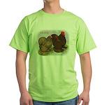 Cochins Golden Laced Green T-Shirt