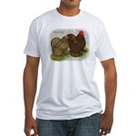 Cochins Golden Laced Fitted T-Shirt