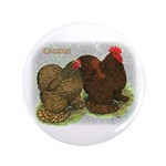 "Cochins Golden Laced 3.5"" Button (100 pack)"