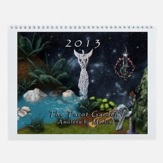 Merlin's Tarot Garden Wall Calendar
