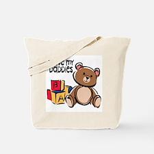 #1 I Love My Daddies Tote Bag
