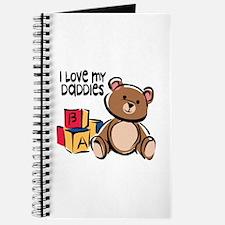 #1 I Love My Daddies Journal