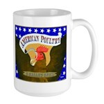 American Poultry Large Mug