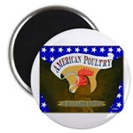 "American Poultry 2.25"" Magnet (100 pack)"