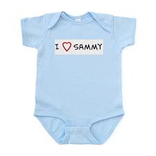 I Love Sammy Infant Creeper