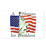 A Woman for President Postcards (Package of 8)