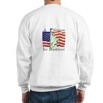 A Woman for President Sweatshirt