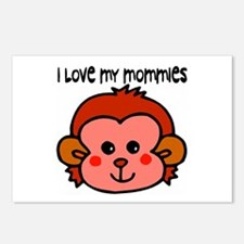 #6 I Love My Mommies Postcards (Package of 8)