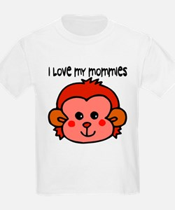 #6 I Love My Mommies Kids T-Shirt