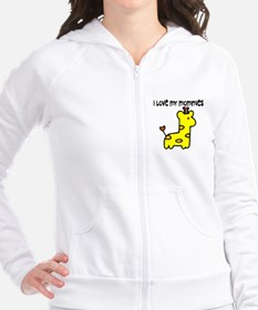 #5 I Love My Mommies Fitted Hoodie