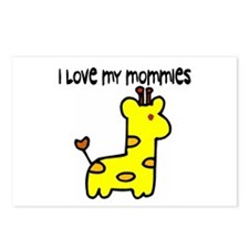 #5 I Love My Mommies Postcards (Package of 8)
