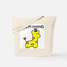 #5 I Love My Mommies Tote Bag