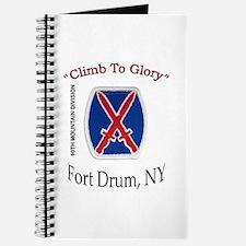 "10th Mountain Div ""Climb To G Journal"
