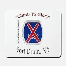 "10th Mountain Div ""Climb To G Mousepad"
