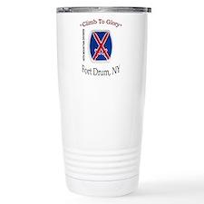 "10th Mountain Div ""Climb To G Travel Mug"