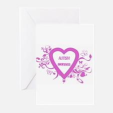Pink Autism Awareness Greeting Cards (Pk of 10)