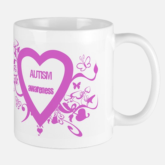 Pink Autism Awareness Mug