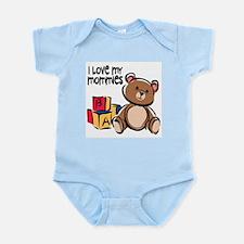 #1 I Love My Mommies Infant Creeper