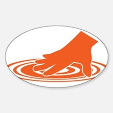 Spin The Vinyl Oval Decal