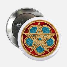 Celtic Pentacle Button