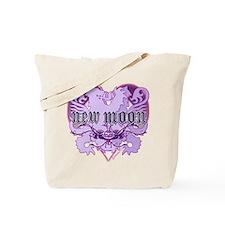 New Moon Violet Edwardian Lions Crest Tote Bag