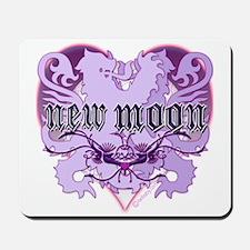 New Moon Violet Edwardian Lions Crest Mousepad