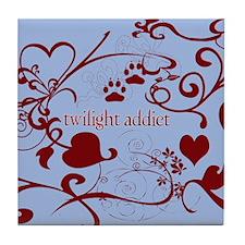 Twilight Addict Tile Coaster