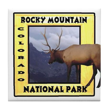 Rocky Mountain National Park Tile Coaster