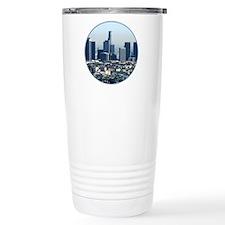 Helaine's LA Skyline Travel Coffee Mug