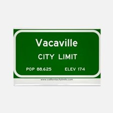 Vacaville Rectangle Magnet