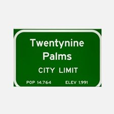 Twentynine Palms Rectangle Magnet