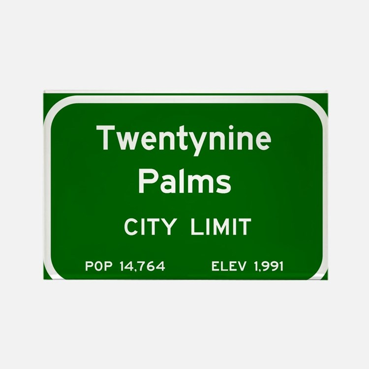 Twentynine Palms Rectangle Magnet
