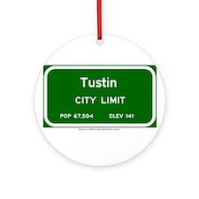 Tustin Ornament (Round)