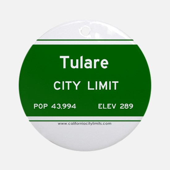 Tulare Ornament (Round)
