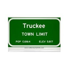Truckee Rectangle Magnet