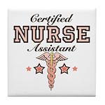 Certified Nurse Assistant Tile Coaster