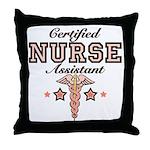 Certified Nurse Assistant Throw Pillow