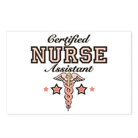 Certified Nurse Assistant Postcards (Package of 8)
