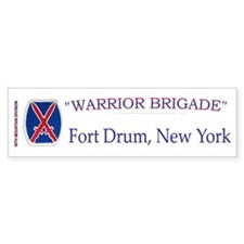 10th Mount Div 1BCT Bumper Bumper Sticker
